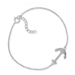Sideways Anchor Bracelet