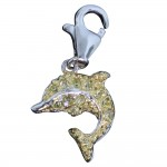 Golden Dolphin Charm