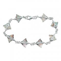White Opal Stingray Bracelet