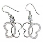 Butterfly Sparkle Dankle Earrings