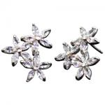Tropical Flower Trio Earrings