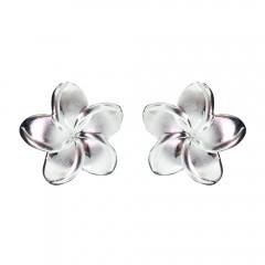 Plumeria Post Earrings