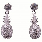 Pineapple CZ Earrings