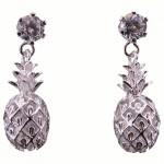 Pineapple CZ Earrings
