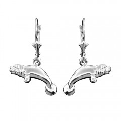 Manatee Dangle Earrings - USA