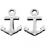Anchor Post Earring - USA
