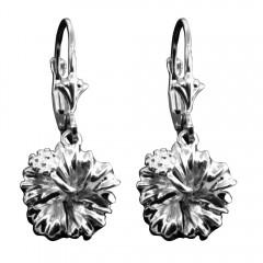 Hibiscus Leverback Earrings