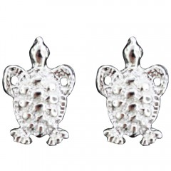 Mini Sea Turtle Post Earrings