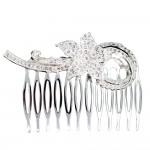 Flourish Silver Hair Comb