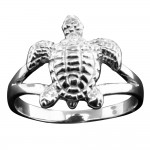 Textured Turtle Ring - USA