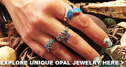 Unique Opal Jewelry