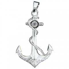 Anchor and Rope Pendant