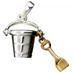 Bucket and Shovel pendant - USA