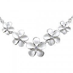 Plumeria Bouquet Necklace