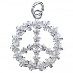 Plumeria Peace Pendant - Limited Edition
