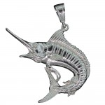 Marlin Fish Pendant