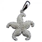 Textured Starfish Pendant