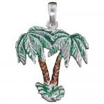 Tropical Breeze Palm Pendant